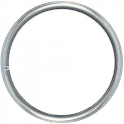 FIXED GEAR, ALUMINIUM BICYCLE RIM, 43mm HEIGHT, IN COLOR SILVER