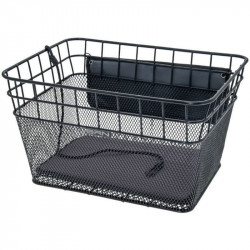 FIDO - BICYCLE BASKET FOR PETS CARRYING - IN COLOR BLACK