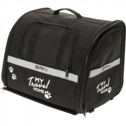 BRN MY_TRAVEL_HOME ANIMAL CARRIER BICYCLE BASKET / BAG