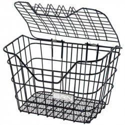 SCRIGNO ANTI-THEFT FRONT BICYCLE BASKET