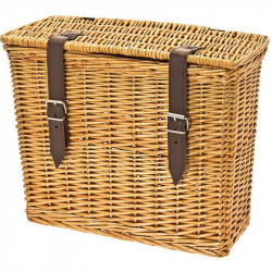 AMARCORD - WICKER REAR CARRIER BICYCLE BOX – NATURAL COLOR