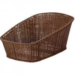 BRN HAWAII REAR BICYCLE BASKET BROWN