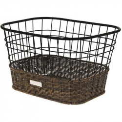 SIVIGLIA FRONT BICYCLE BASKET BLACK
