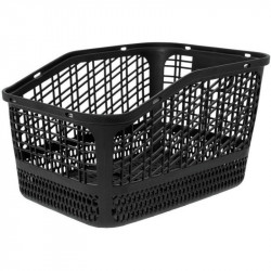 SHOPPER REAR BICYCLE BASKET IN COLOR BLACK