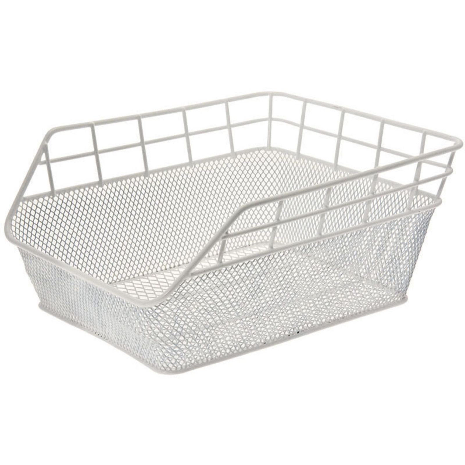 FANTASY REAR BICYCLE BASKET – IN COLOR WHITE
