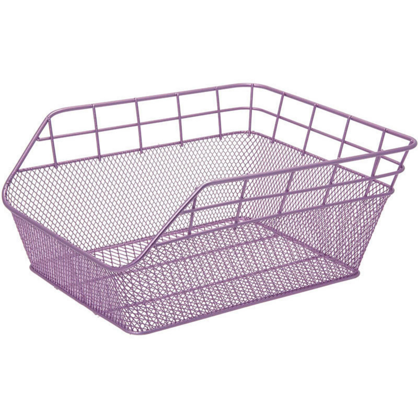 FANTASY REAR BICYCLE BASKET – IN COLOR LILAC