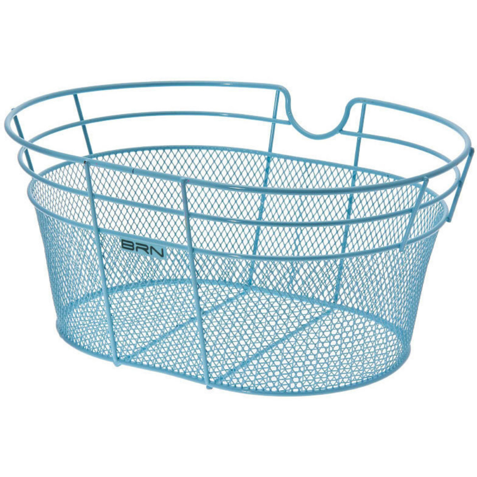 FANTASY METALLIC FRONT BICYCLE BASKET – IN COLOR LIGHT BLUE