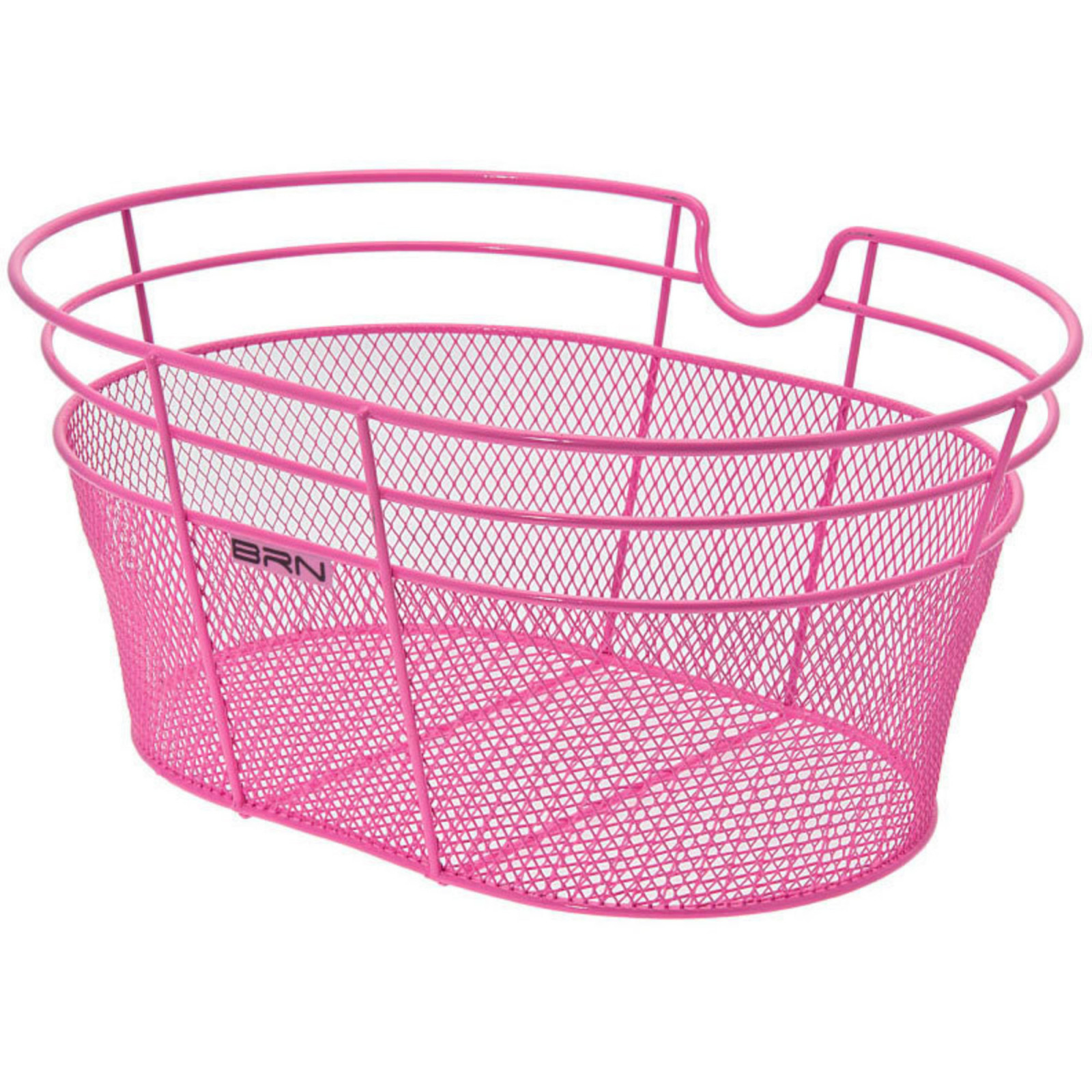 FANTASY METALLIC FRONT BICYCLE BASKET – IN COLOR PINK